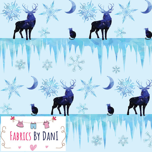 Winter Night Fabric