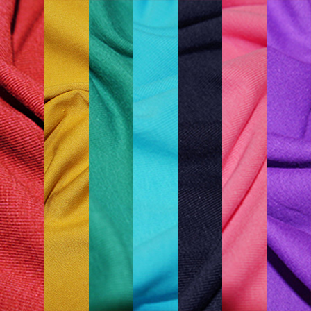 Solid Rainbow Pack Fabric