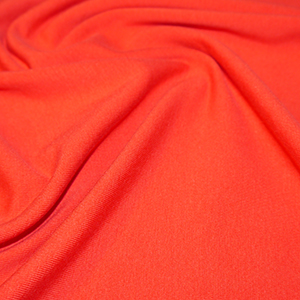 Red Cotton Lycra Jersey Fabric