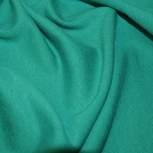Teal Cotton Lycra Jersey Fabric