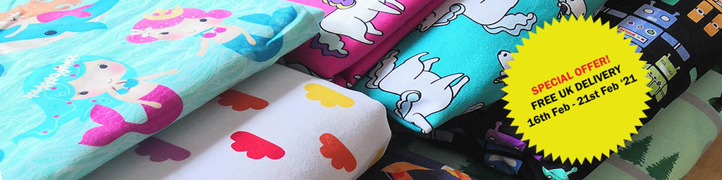 Fabrics By Dani - High Quality Custom Printed Fabrics, Pre-order, In-stock and Haberdashery